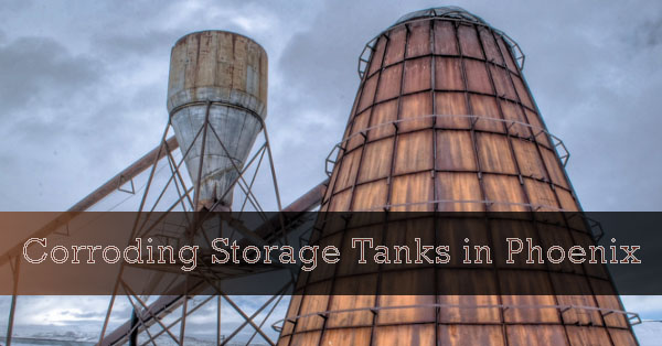 Corroding Storage Tanks Coating in Phoenix