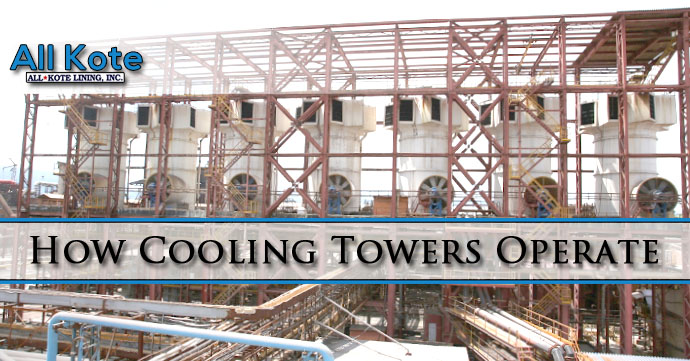 Cooling Towers How They Work : How cooling towers operate all kote lining inc