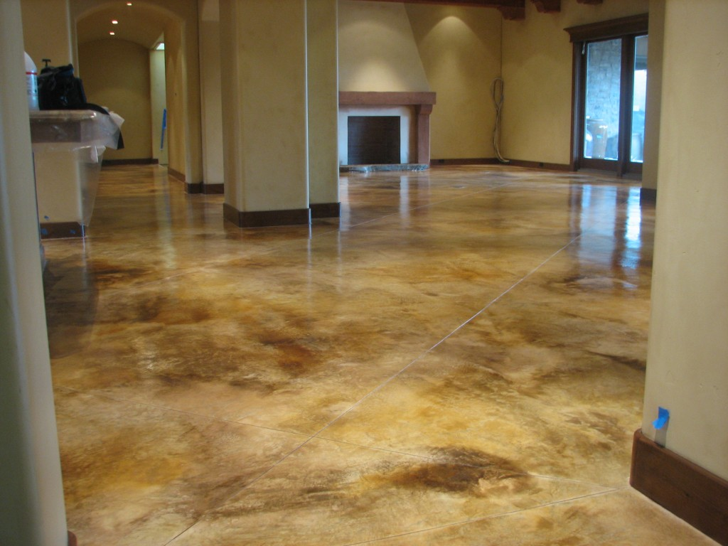 stained cement floors. Benefits Of Stained Concrete Cement Floors